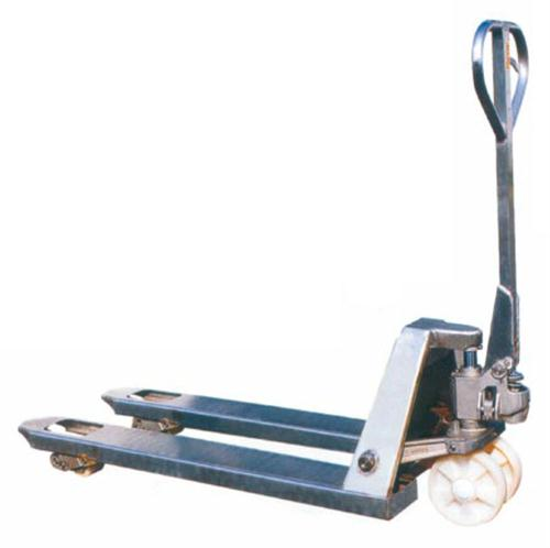 Hot Dipped Galvanised Hand Pallet Truck